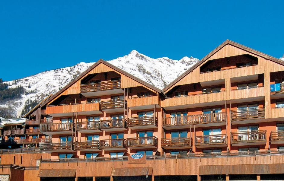 Vacances en montagne Résidence le Dôme des Rousses - Vaujany - Extérieur hiver