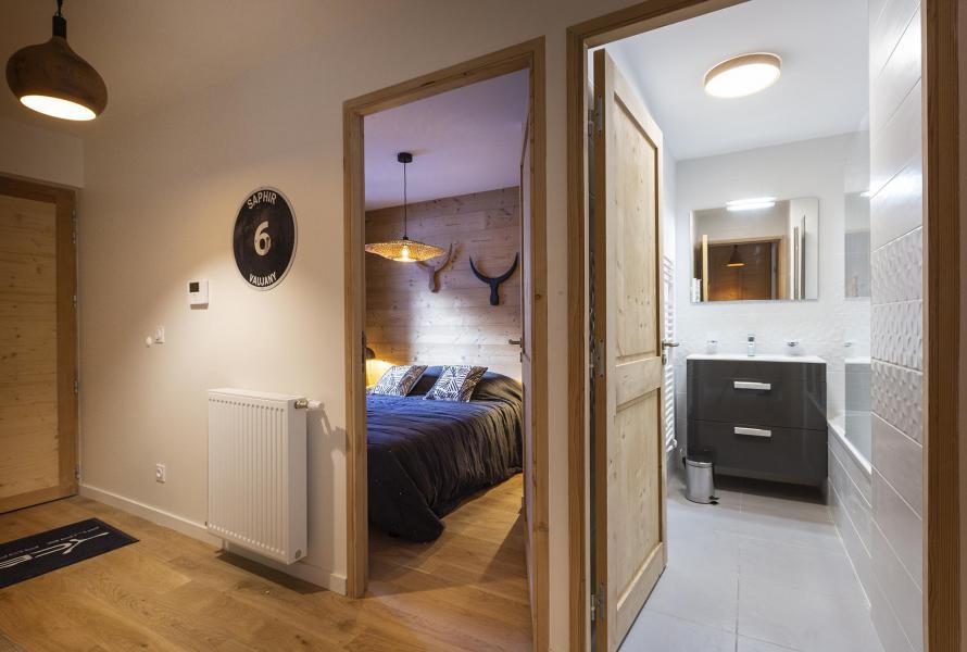 Аренда на лыжном курорте Апартаменты 2 комнат кабин 6 чел. - Résidence Le Saphir - Vaujany - апартаменты