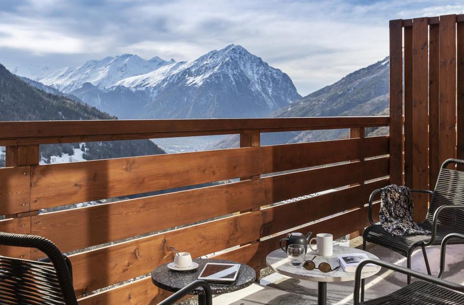 Аренда на лыжном курорте Апартаменты 2 комнат кабин 6 чел. - Résidence Le Saphir - Vaujany - зимой под открытым небом