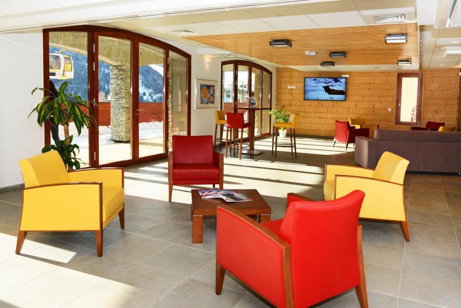 Alquiler al esquí Résidence Prestige la Cascade - les Epinettes - Vaujany - Recepción