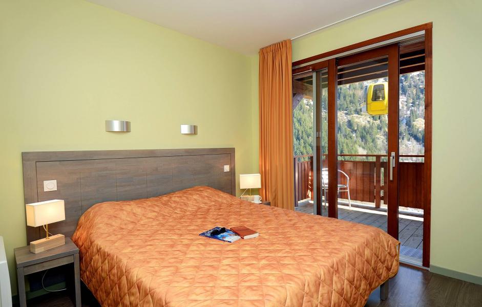 Аренда на лыжном курорте Résidence Prestige la Cascade - les Epinettes - Vaujany - Двухспальная кровать