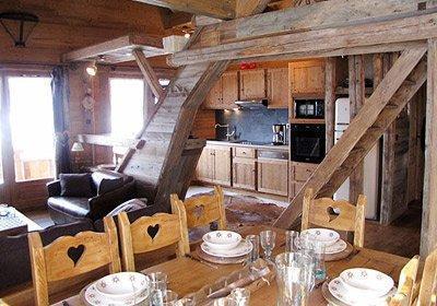 Location au ski Chalet Le Grenier De Germaine - Vaujany - Salle à manger