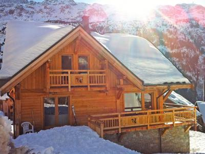 Rent in ski resort Chalet Ysengrin - Vaujany - Winter outside