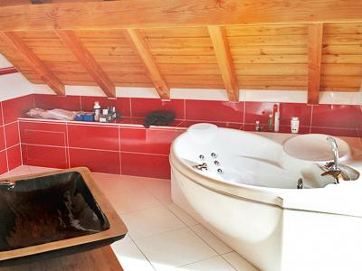 Rent in ski resort Chalet Ysengrin - Vaujany - Balneo bath-tub
