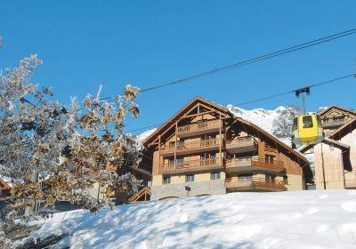 Location au ski Residence La Cascade De Vaujany - Vaujany - Extérieur hiver