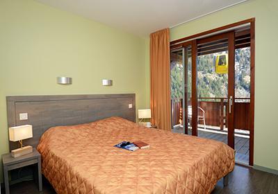 Location au ski Residence La Cascade De Vaujany - Vaujany - Chambre