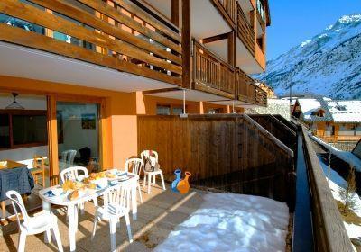 Location au ski Residence Le Dome Des Rousses - Vaujany - Extérieur hiver