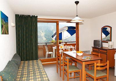 Location 8 personnes Appartement duplex 4 pièces 7-8 personnes - Residence Le Dome Des Rousses