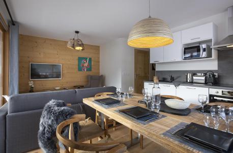 Аренда на лыжном курорте Апартаменты 3 комнат кабин 6 чел. - Résidence Le Saphir - Vaujany - апартаменты