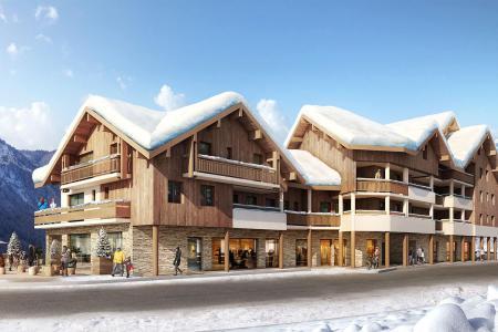 Vacances en montagne Résidence Le Saphir - Vaujany - Extérieur hiver