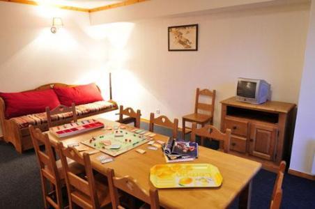 Location au ski Appartement 4 pièces 8 personnes - Residence Les Valmonts De Vaujany - Vaujany - Coin repas