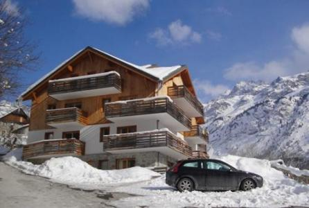 Location au ski Residence Les Valmonts De Vaujany - Vaujany - Extérieur hiver