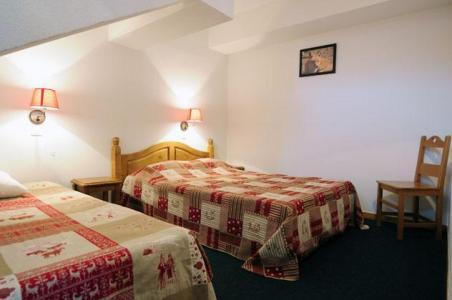 Location au ski Residence Les Valmonts De Vaujany - Vaujany - Chambre mansardée