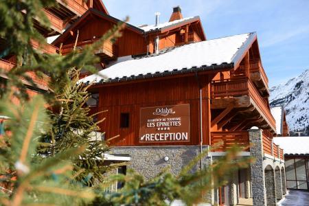Vacances en montagne Résidence Prestige la Cascade - les Epinettes - Vaujany - Extérieur hiver