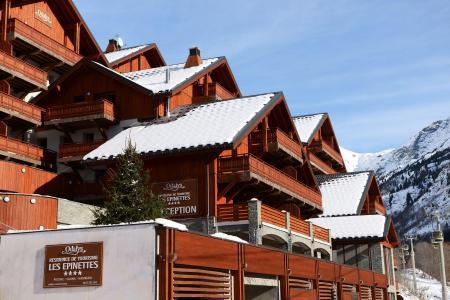 Location au ski Résidence Prestige la Cascade - les Epinettes - Vaujany - Extérieur hiver