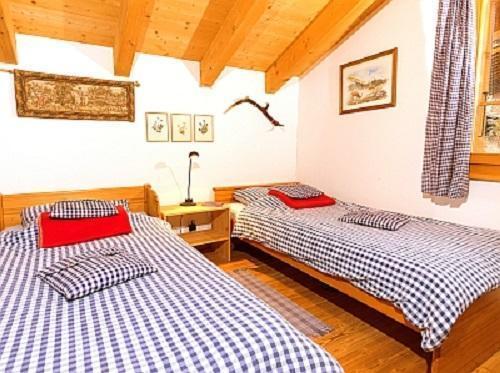 Location au ski Chalet triplex 6 pièces 10 personnes - Chalet Val De Verbier - Verbier - Lit simple