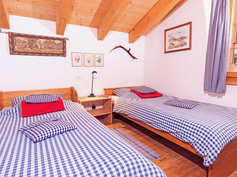 Location au ski Chalet Val de Verbier - Verbier - Chambre mansardée