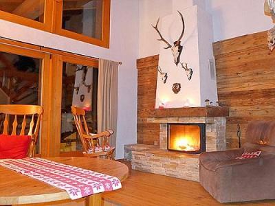 Location au ski Chalet triplex 6 pièces 10 personnes - Chalet Val De Verbier - Verbier - Séjour