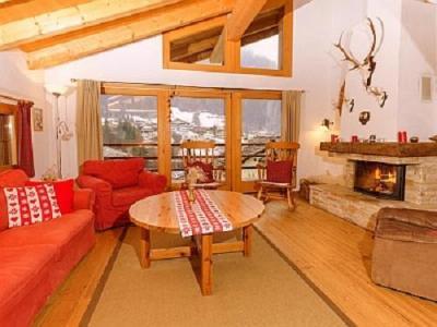 Location au ski Chalet Val De Verbier - Verbier - Séjour