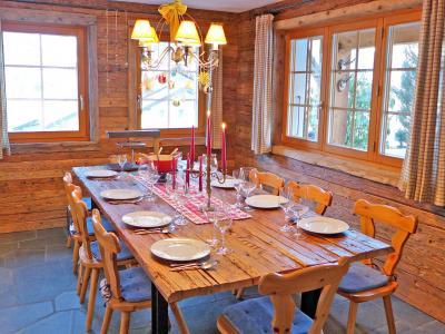 Location au ski Chalet Val de Verbier - Verbier - Salle à manger