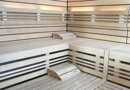 Location au ski Résidence Swisspeak Resorts Vercorin - Vercorin - Sauna