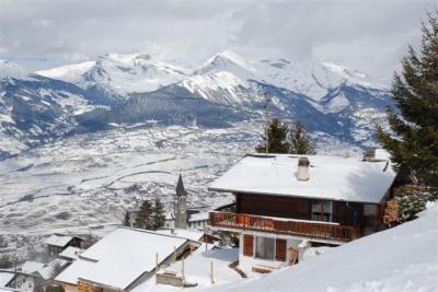 Location au ski Chalet Cny - Veysonnaz - Extérieur hiver