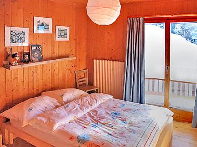 Rent in ski resort Chalet CNY01 - Veysonnaz - Bedroom