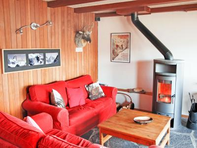 Rent in ski resort Chalet CNY01 - Veysonnaz - Living room