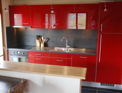 Rent in ski resort Chalet CNY01 - Veysonnaz - Open-plan kitchen