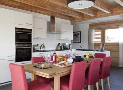 Location au ski Appartement 4 pièces 6 personnes - Residence Ski Heaven Veysonnaz - Veysonnaz - Salle à manger
