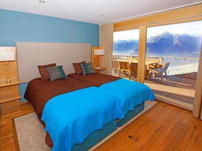 Аренда на лыжном курорте Résidence Ski Heaven Veysonnaz - Veysonnaz - Комната
