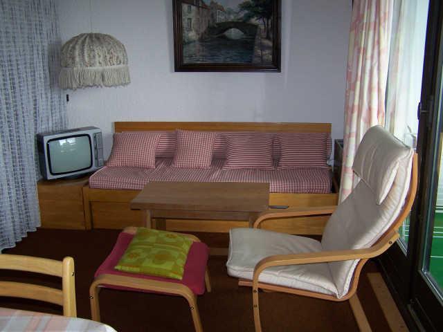 Location au ski Appartement duplex 3 pièces 7 personnes (302T12) - Residence Les Glovettes - Villard de Lans - Banquette-lit