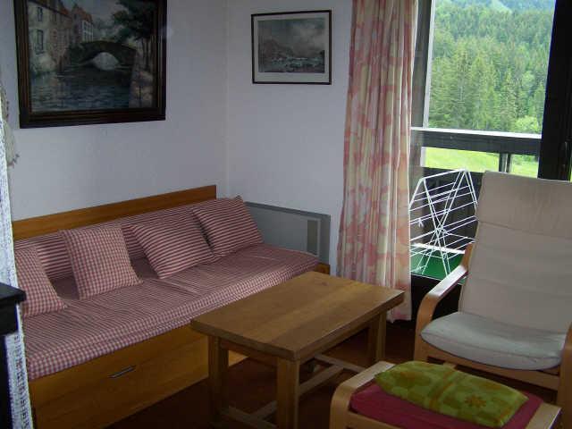 Location au ski Appartement duplex 3 pièces 7 personnes (302T12) - Residence Les Glovettes - Villard de Lans - Séjour