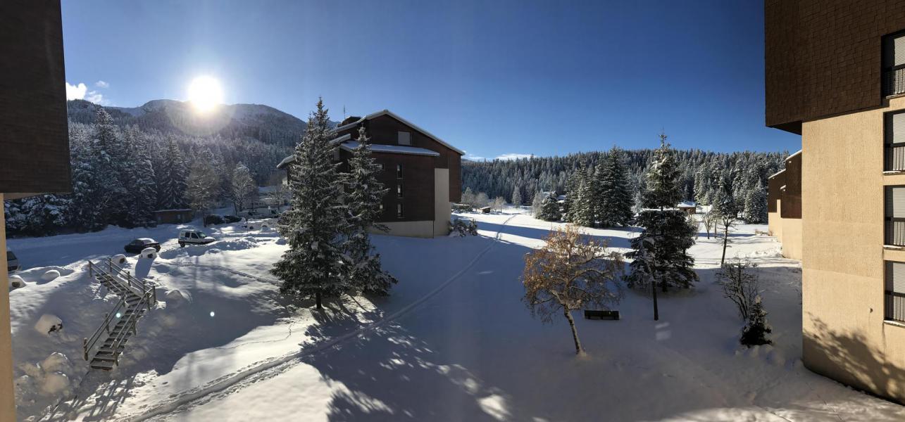 Location au ski Résidence Herbouilly - Villard de Lans - Extérieur hiver