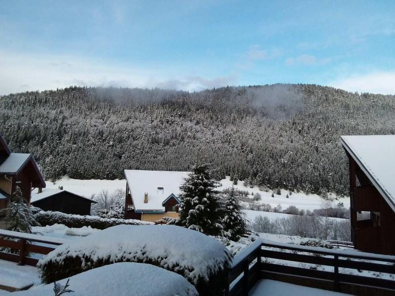 Location au ski Résidence la Bourne - Villard de Lans - Extérieur hiver