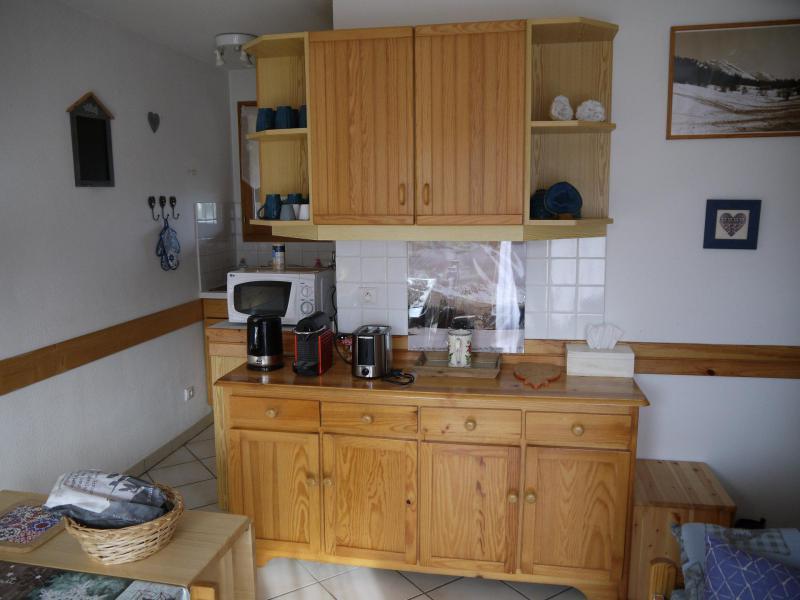 Location au ski Appartement 2 pièces cabine 4 personnes (D) - Résidence la Bourne - Villard de Lans - Cuisine