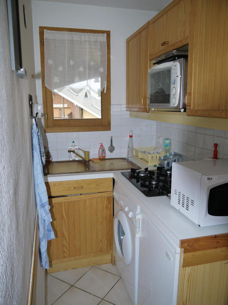 Location au ski Appartement 2 pièces cabine 4 personnes (D) - Résidence la Bourne - Villard de Lans - Kitchenette
