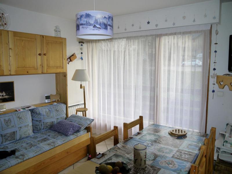 Location au ski Appartement 2 pièces cabine 4 personnes (D) - Résidence la Bourne - Villard de Lans - Salle à manger