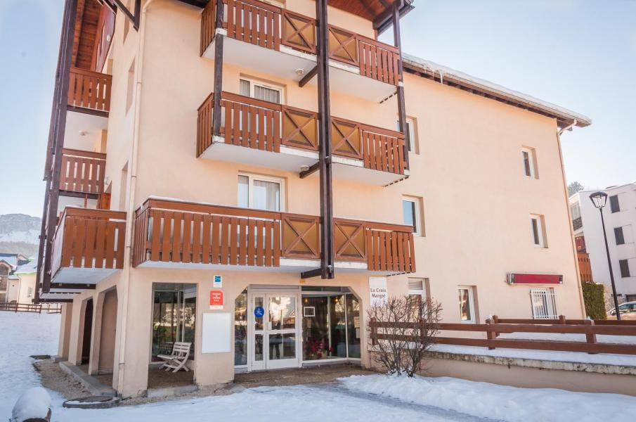 Vacances en montagne Résidence la Croix Margot - Villard de Lans - Extérieur hiver