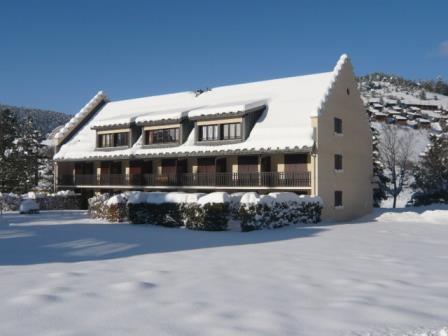 Аренда на лыжном курорте Résidence les Quatre Saisons - Villard de Lans - зимой под открытым небом