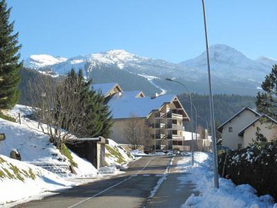 Rent in ski resort Studio sleeping corner 6 people (08) - Résidence la Fleur du Roy - Villard de Lans