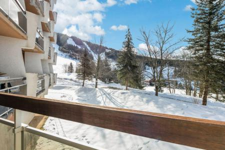 Rent in ski resort Studio 3 people (J35) - Résidence les Arolles - Villard de Lans