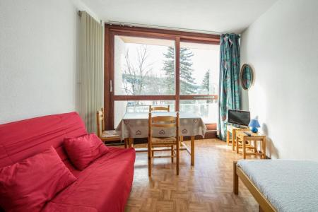 Rent in ski resort Studio 3 people (J35) - Résidence les Arolles - Villard de Lans - Living room