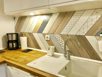 Rent in ski resort 2 room apartment 6 people (02) - Résidence les Fayards - Villard de Lans - Kitchen
