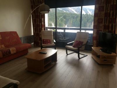 Rent in ski resort 2 room apartment cabin 6 people (5005T6) - Résidence les Glovettes - Villard de Lans - Living room