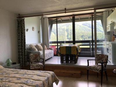 Rent in ski resort Studio cabin 6 people (813T3) - Résidence les Glovettes - Villard de Lans - Living room