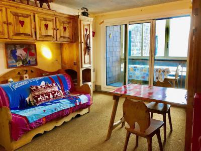 Rent in ski resort Studio sleeping corner 4 people (205) - Résidence Tiolache - Villard de Lans - Living room