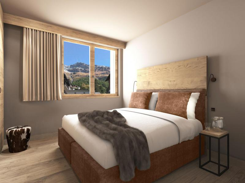 Alquiler al esquí Résidence Swisspeak Resorts Zinal - Zinal - Cama doble