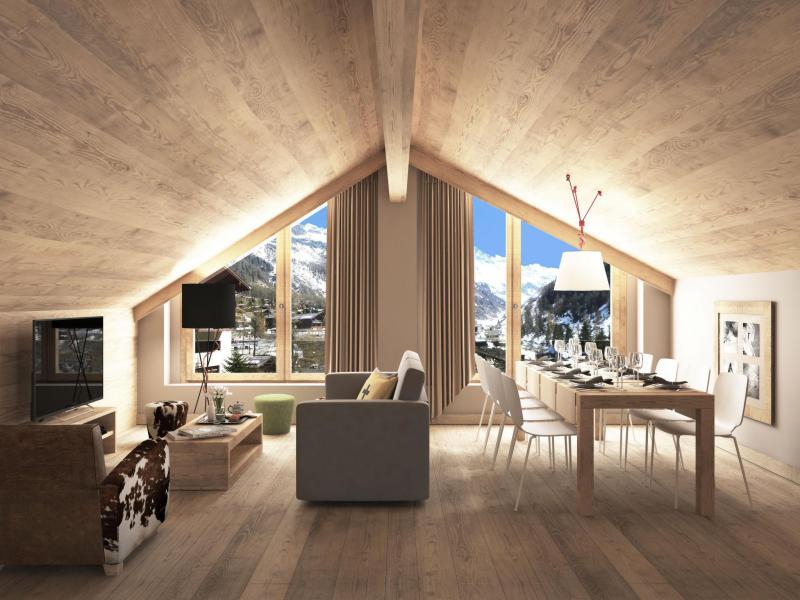 Alquiler al esquí Résidence Swisspeak Resorts Zinal - Zinal - Estancia
