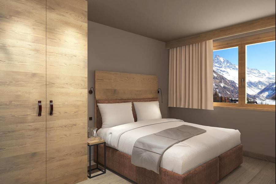 Alquiler al esquí Résidence Swisspeak Resorts Zinal - Zinal - Habitación